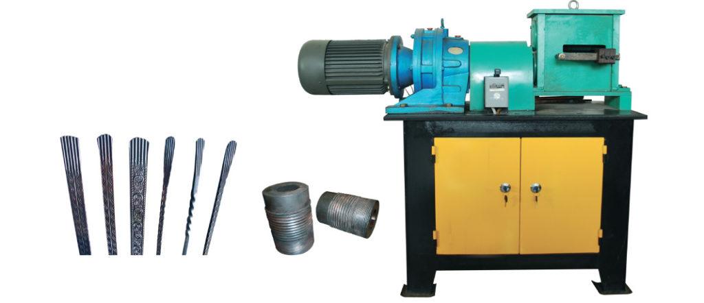 EL-F3 fishtail coining machine