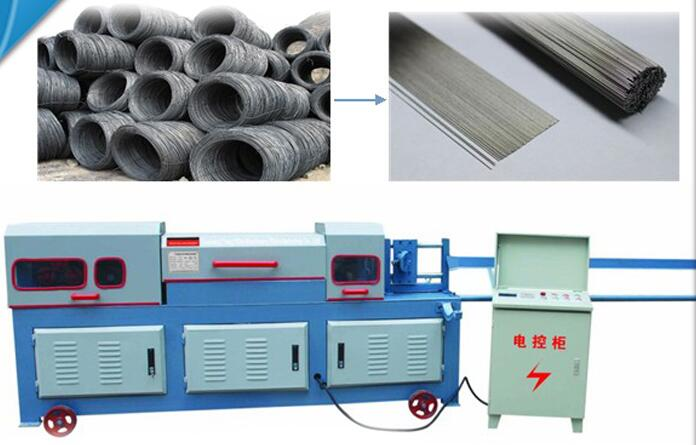 Straightening and cutting machine for sale
