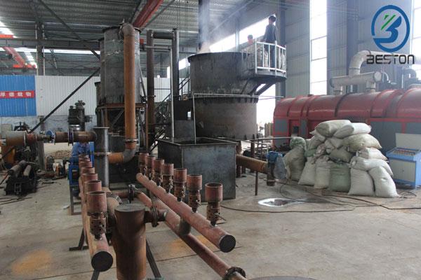 wood charcoal making machines