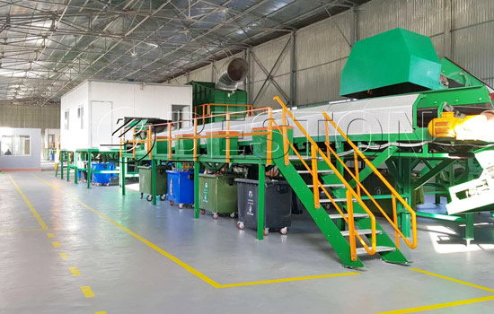 Beston Waste Plastic Sorting Plant