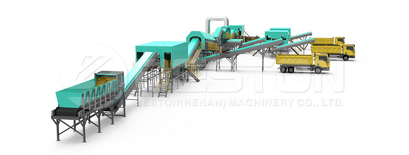 Design of Automatic Waste Separation Plant