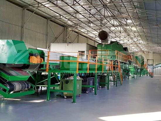 Waste Sorting Machine in Uzbekistan