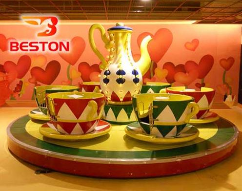 tea cup rides manufacturer in Beston