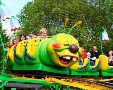 Wacky-Worm Roller Coaster for sale