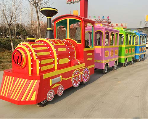 trackless train rides for amusement parks