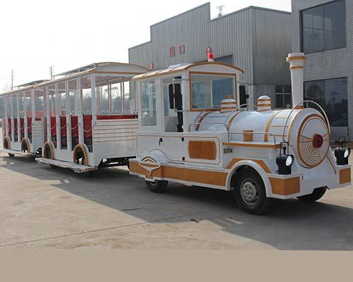 tourist train ride for theme park