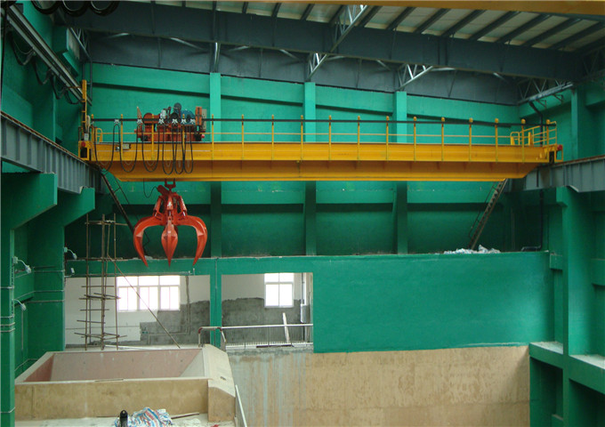 Sell grab bridge crane from the manufacturer