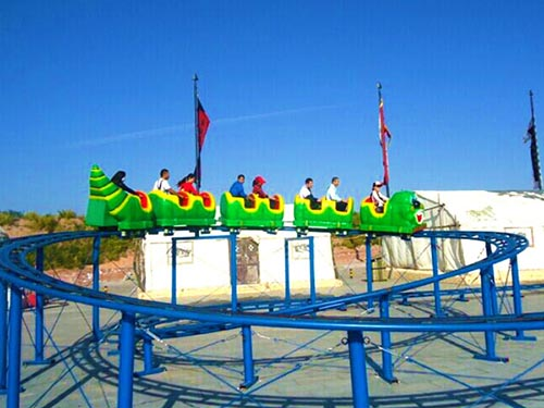 Wacky-worm roller coasters price in China